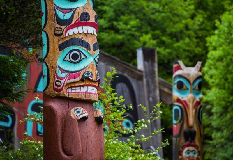 I totem della meravigliosa Sitka