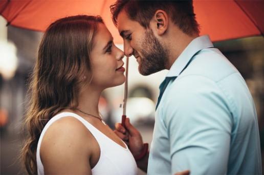 Coppia di fidanzati matrimonio