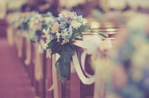 Decorazioni fiori Matrimonio in chiesa