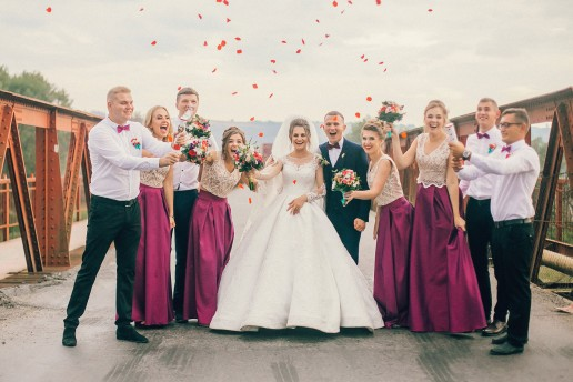 Abito testimoni nozze