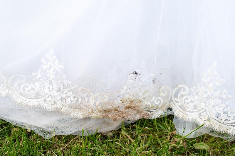 come pulire abito da sposa