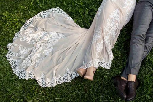 lavare abito da sposa