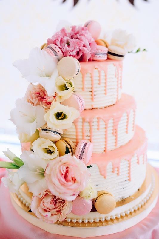 torta per matrimonio in primavera