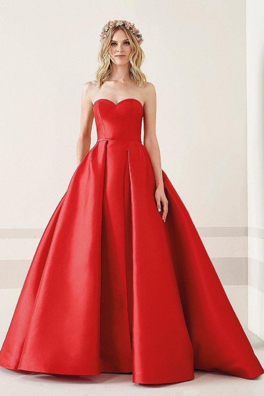 abito da sposa colorato pronovias fiesta taona