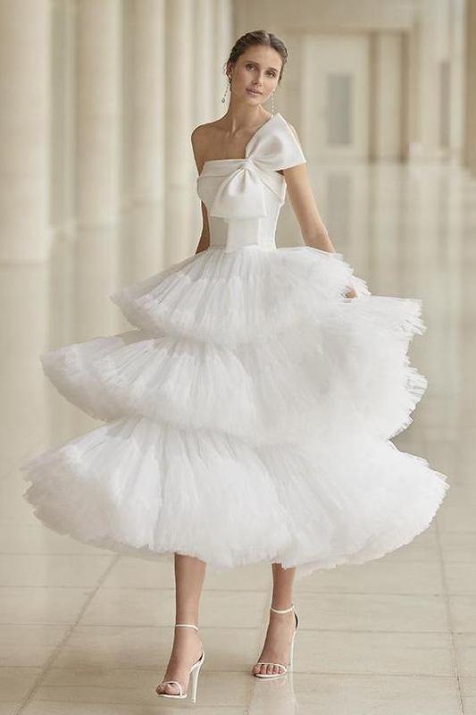 abiti sposa matrimonio civile corto
