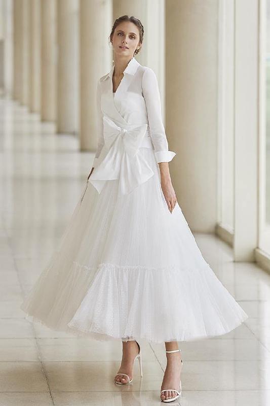 abito da sposa per donna matura