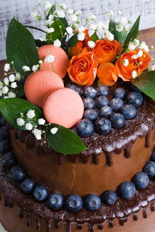 drip cake matrimonio in autunno